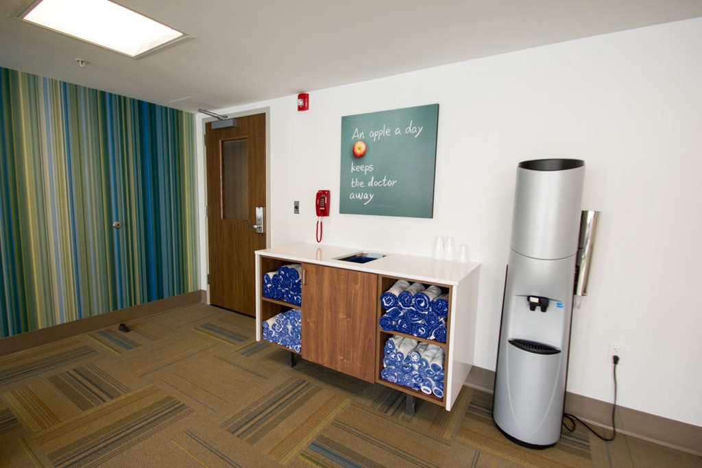 Holiday Inn Express Formula Blue | DeAnna Dasher