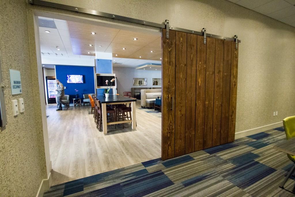 HD wallpapers interior design blue